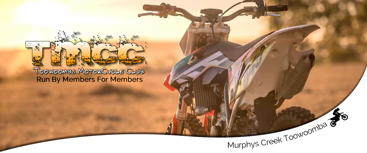 The TMCC Toowoomba Motorcycle Club is member run club for Enduro riders, families and trail riders, we also hold organized rides and regular events